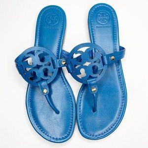 Tory Burch Blue Miller Sandals